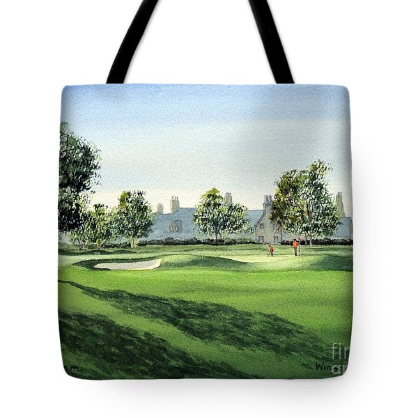 Winged Foot West Golf Course 18th Hole Tote Bag