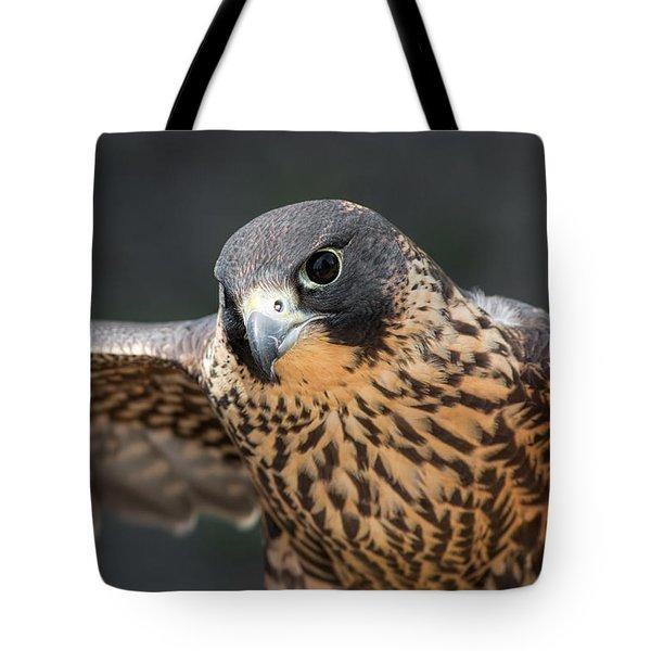 Winged Portrait Tote Bag