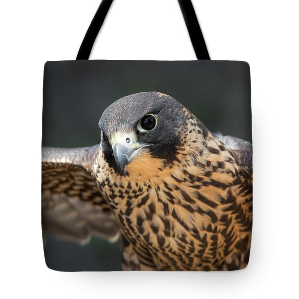 Winged Portrait Tote Bag