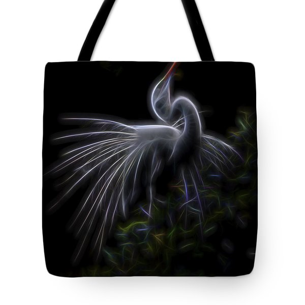 Winged Romance 2 Tote Bag by William Horden