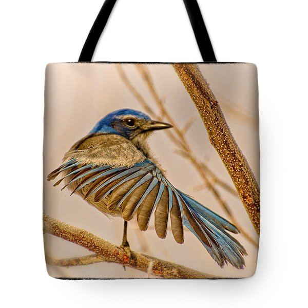Winging It Tote Bag by Janis Knight