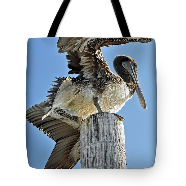 Wings Of A Pelican Tote Bag