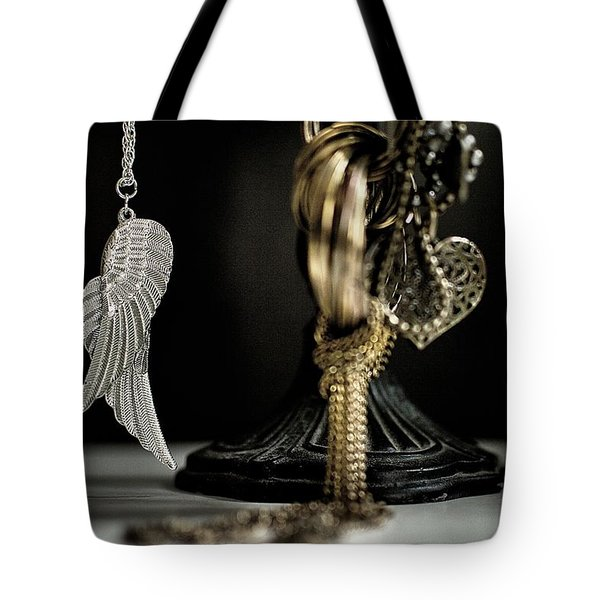 Wings Of Desire I Tote Bag by Marco Oliveira