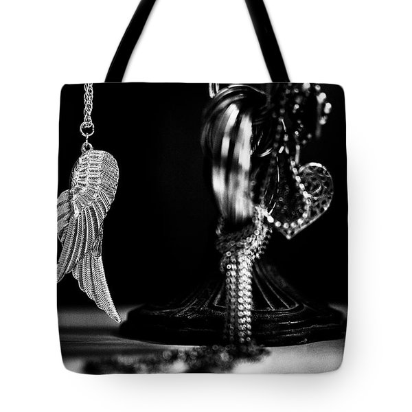 Wings Of Desire II Tote Bag by Marco Oliveira