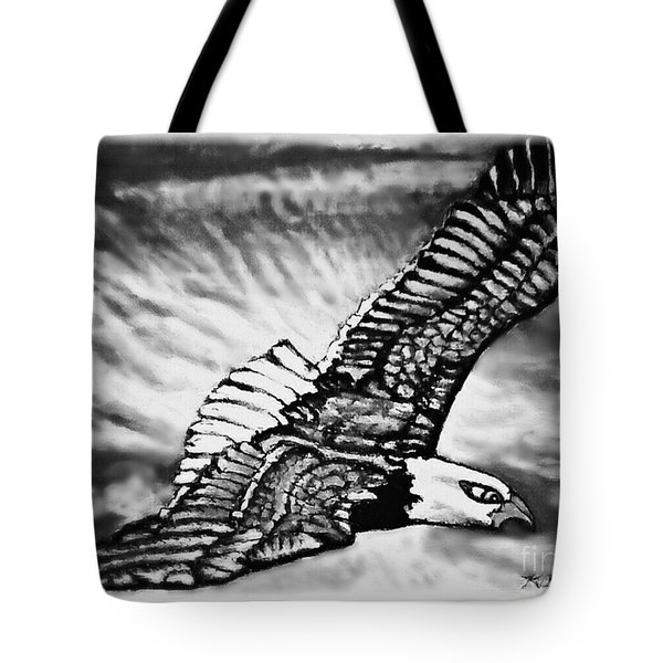 Wings Of Flight In Service To Our Country Tote Bag by Kimberlee Baxter