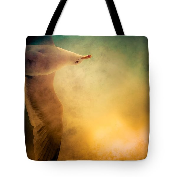 Wings Of Freedom Tote Bag by Loriental Photography