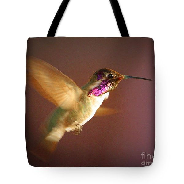 Wings Of Gold Tote Bag