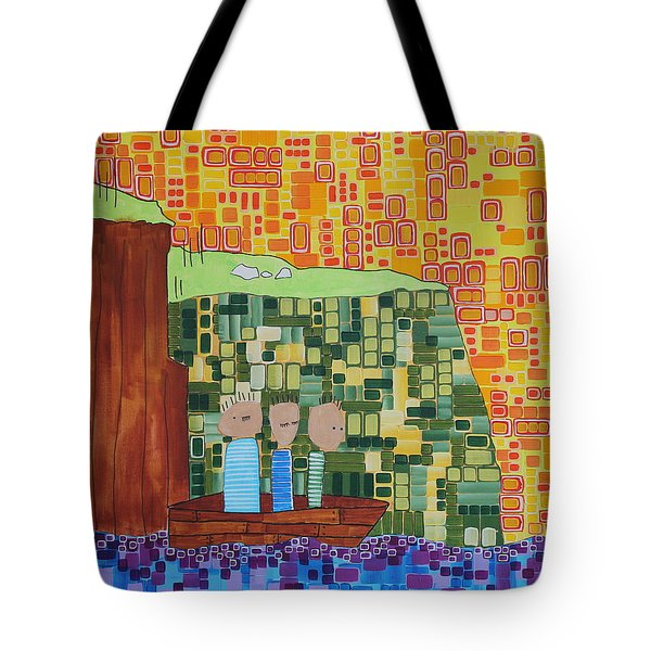 Wink Blink Nod II Tote Bag by Donna Howard