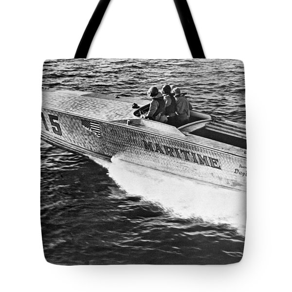 Winner Of The 180 Mile West Palm Beach To Lucaya-freeport Gatewa Tote Bag