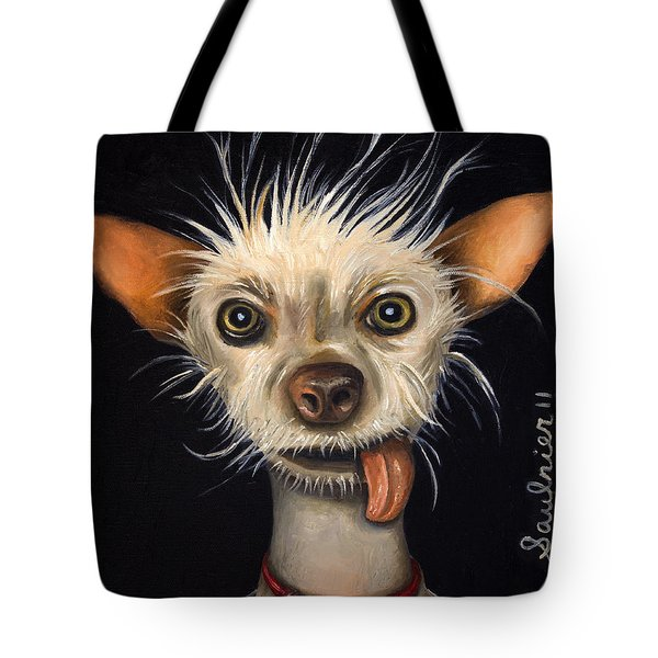 Winner Of The Ugly Dog Contest 2011 Tote Bag
