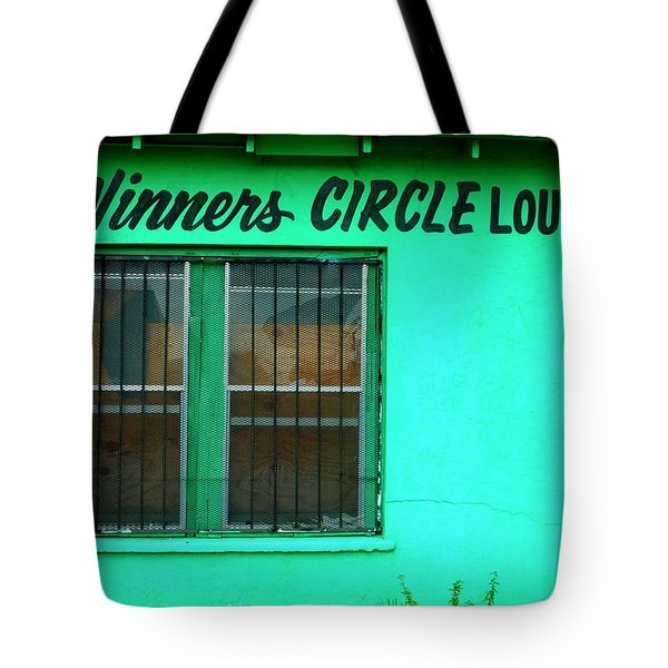 Winner's Circle Lounge Tote Bag