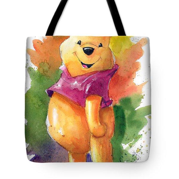 Winnie The Pooh Tote Bag