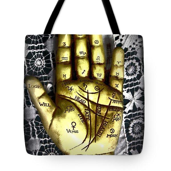 Winning Hand Tote Bag by Lynn Sprowl