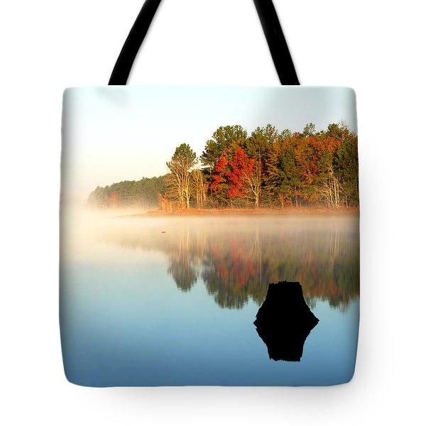 Winnsboro Reservoir-1 Tote Bag by Charles Hite