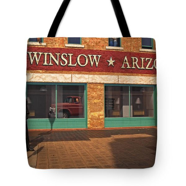 Winslow Arizona Tote Bag