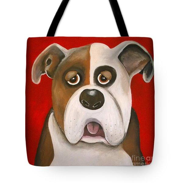 Winston The Dog Tote Bag