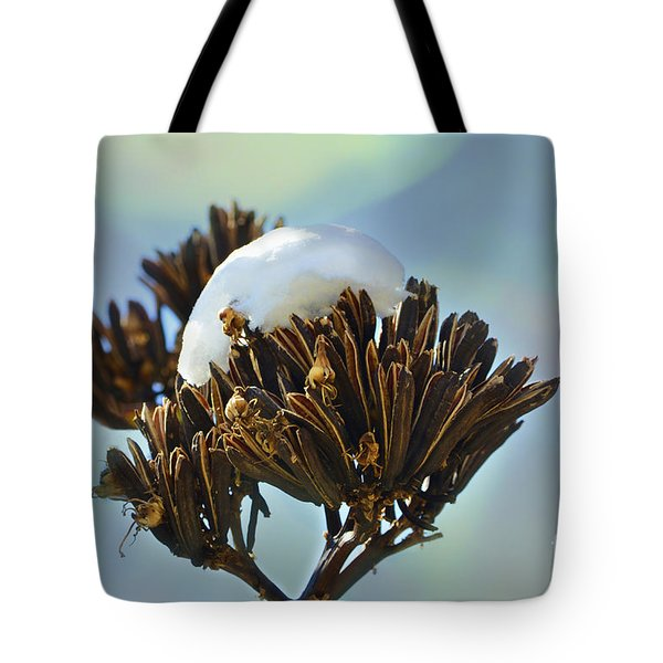 Winter Agave Bloom Tote Bag
