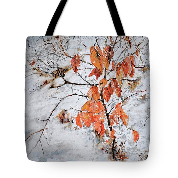 Winter Ash Tote Bag