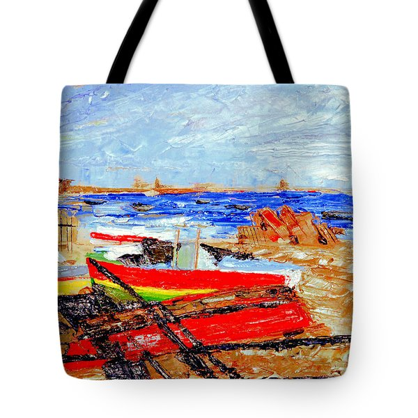 Winter At Provincetown Tote Bag