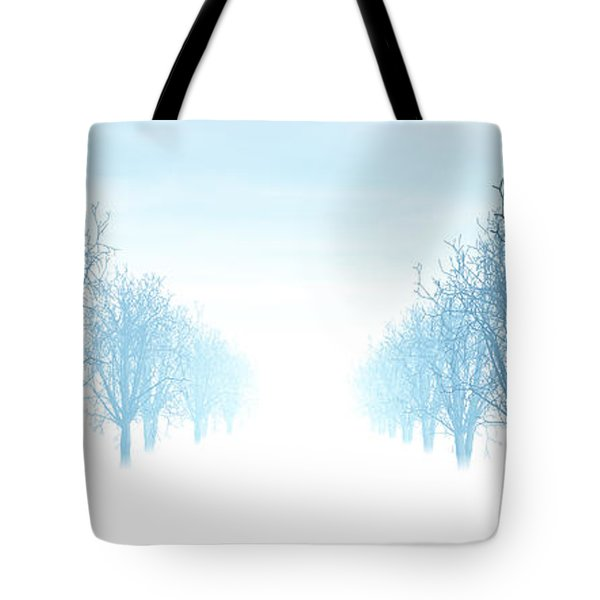 Winter Avenue Tote Bag