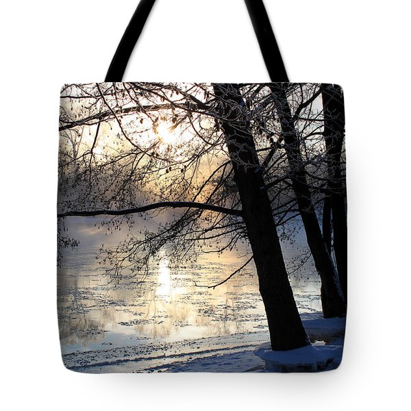 Winter Ballet Tote Bag by Hanne Lore Koehler