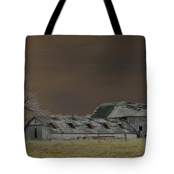 Winter Barns Tote Bag by Alys Caviness-Gober