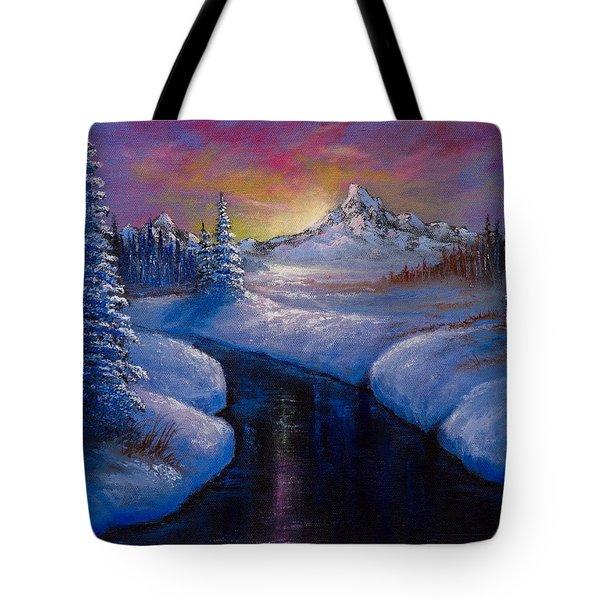 Winter Beauty Tote Bag by C Steele