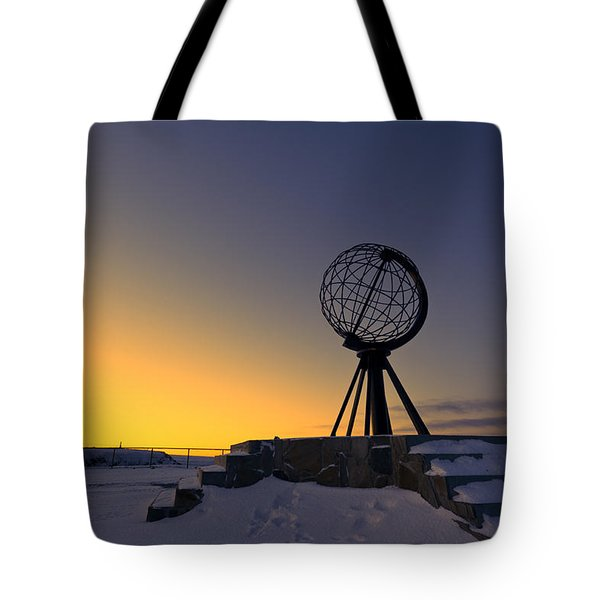 Winter Beyond The Arctic Circle Tote Bag by Ulrich Schade