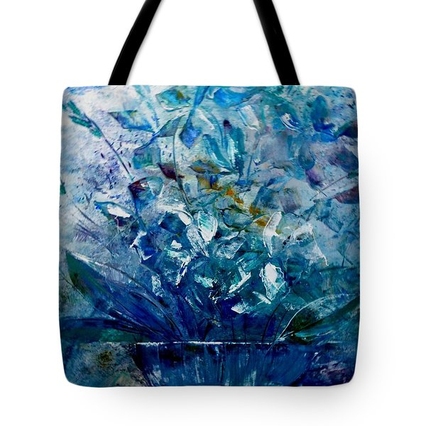 Winter Bouquet Tote Bag by Lisa Kaiser