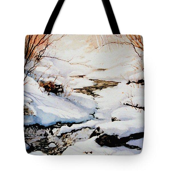 Winter Break Tote Bag by Hanne Lore Koehler