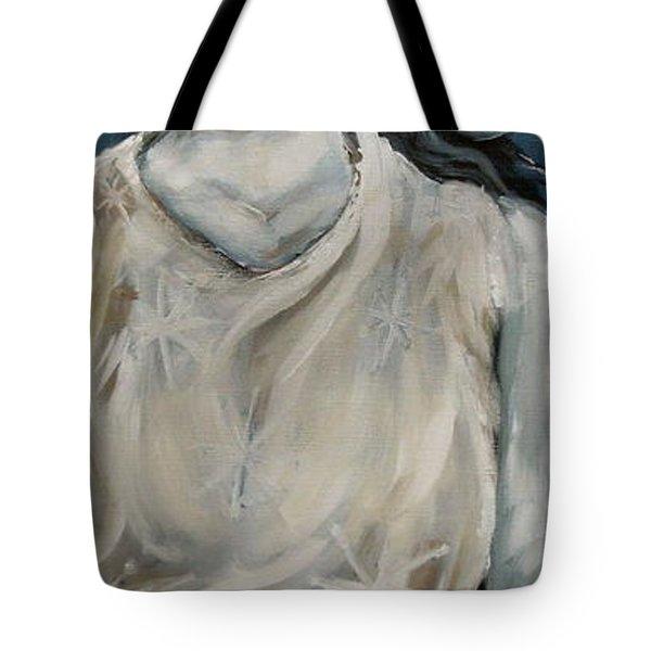 Winter Tote Bag by Carrie Joy Byrnes