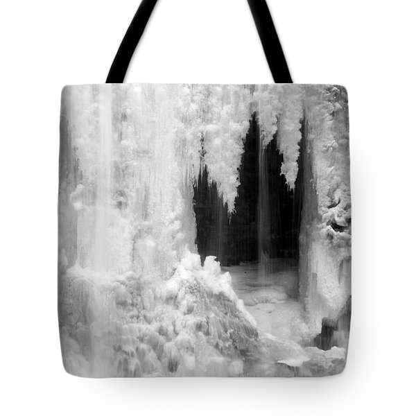 Winter Cave Tote Bag