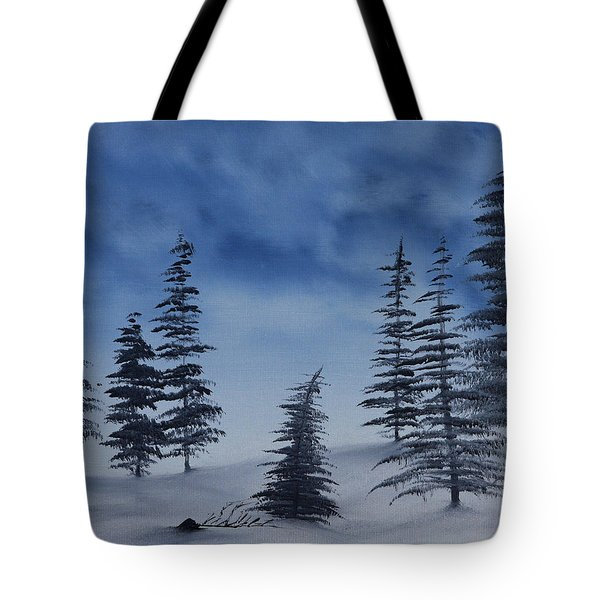 Winter Chill Tote Bag by Jennifer Muller