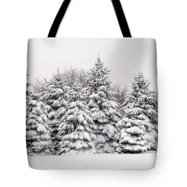 Winter Copse Tote Bag