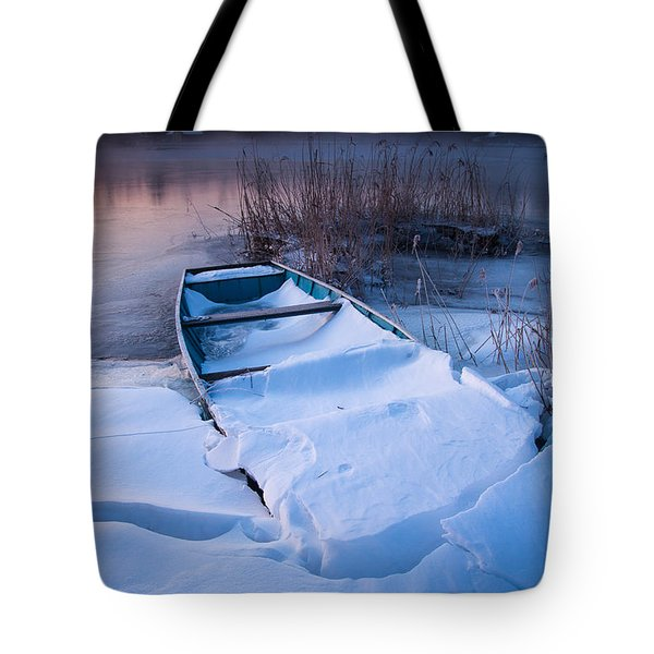 Tote Bag featuring the photograph Winter Dawn by Davorin Mance