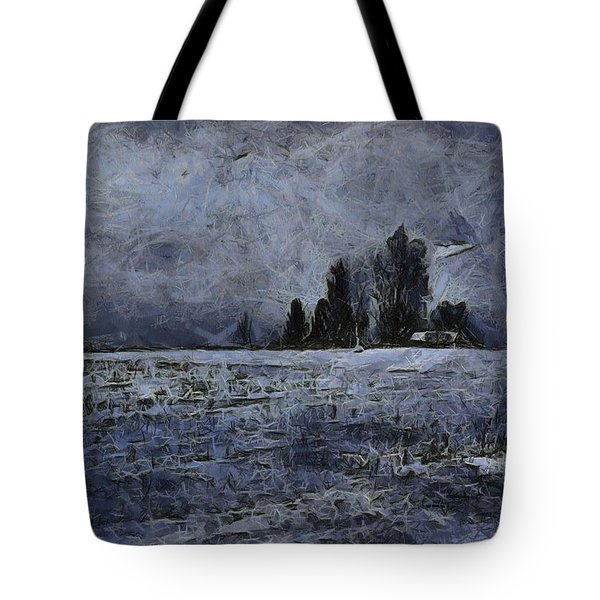 Winter Day Tote Bag by Dan Sproul
