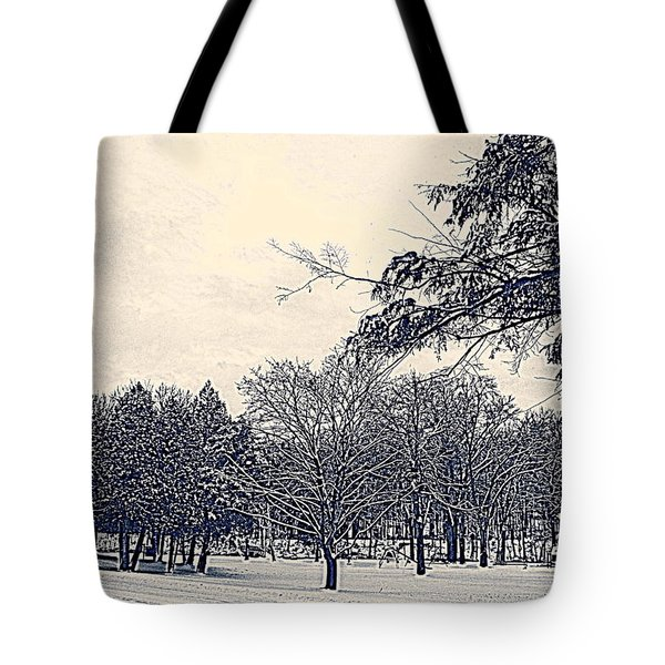 Winter Days Tote Bag by Kay Novy