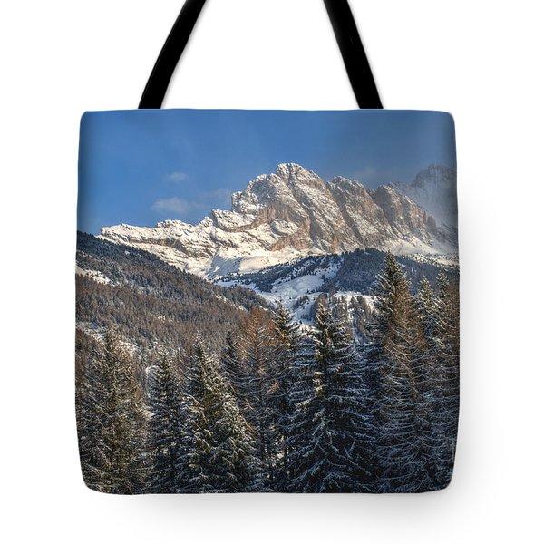 Winter Dolomites Tote Bag by Martin Capek