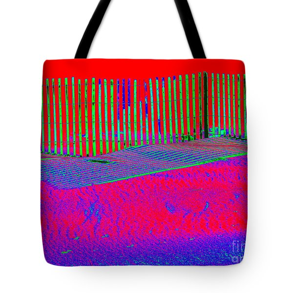 Winter Dune  Tote Bag by Ed Weidman