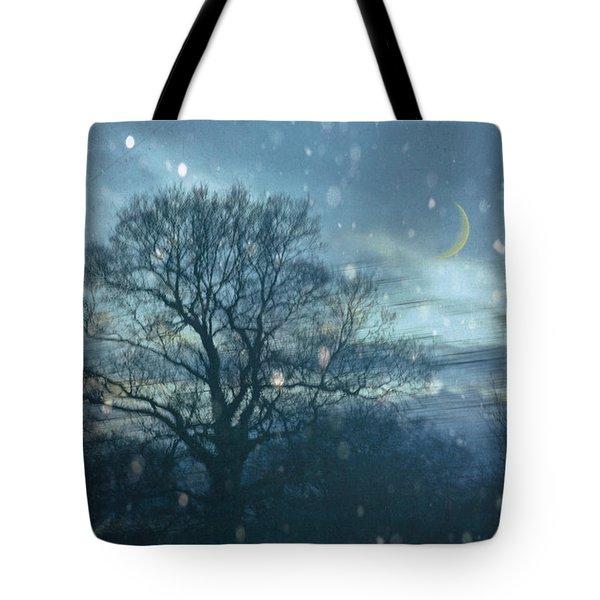 Winter Evening Tote Bag by Jan Bickerton