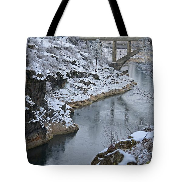 Winter Fashion Tote Bag
