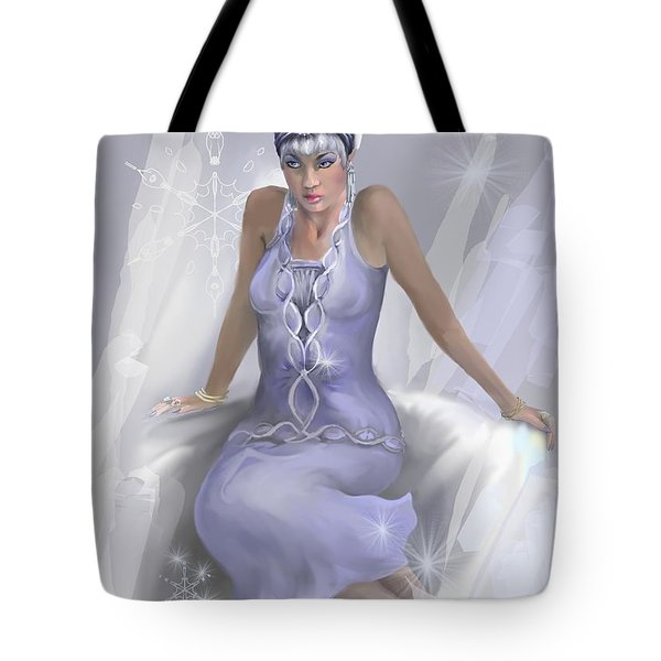 Winter Flame Tote Bag