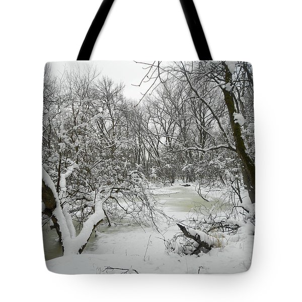 Winter Forest Series 3 Tote Bag
