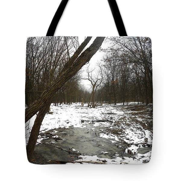 Winter Forest Series Tote Bag