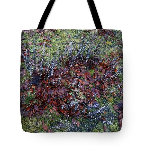 Winter Frost Peace Nature Denmark Tote Bag by Colette V Hera  Guggenheim