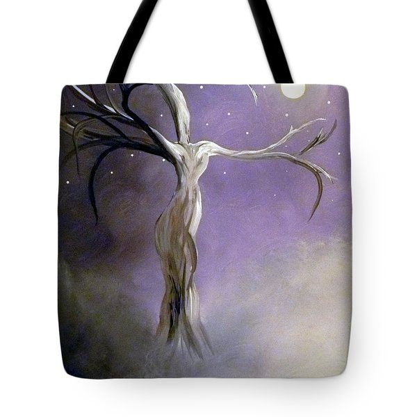 Winter Goddess II Tote Bag by Alys Caviness-Gober