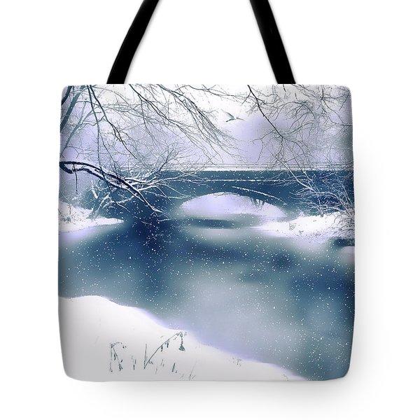 Winter Haiku Tote Bag