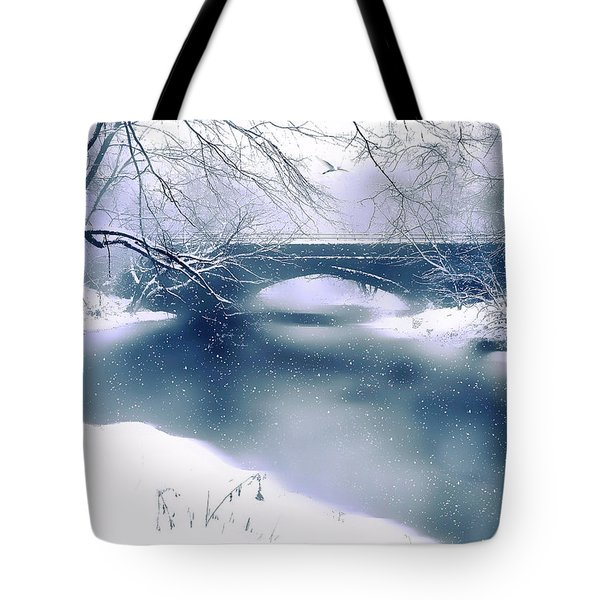 Winter Haiku Tote Bag