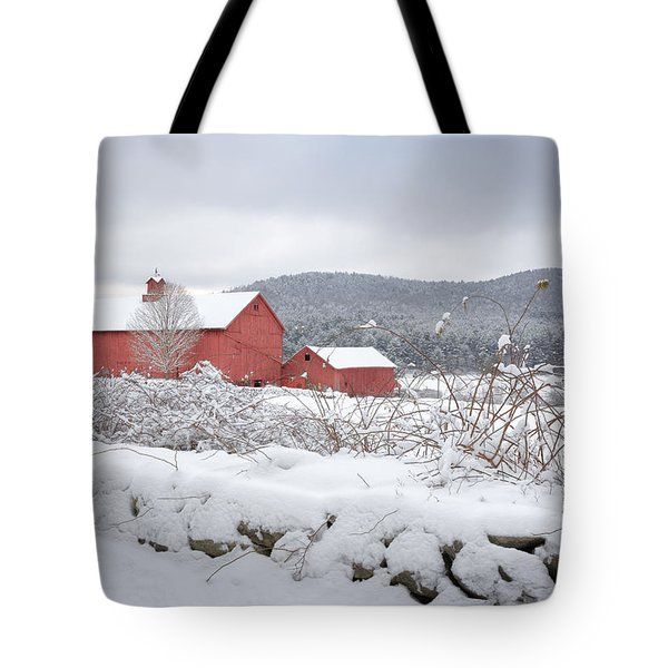 Winter In Connecticut Tote Bag
