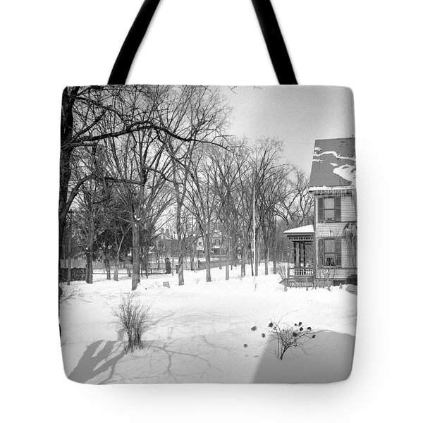 Winter In Pittsfield Tote Bag